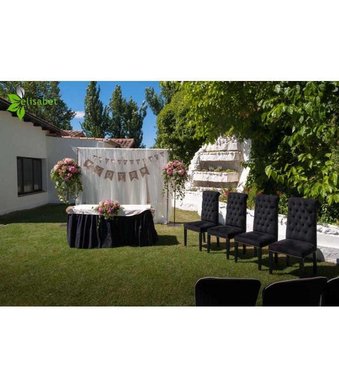 decoración bodas al aire libre