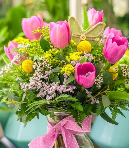 Flores cada quince días