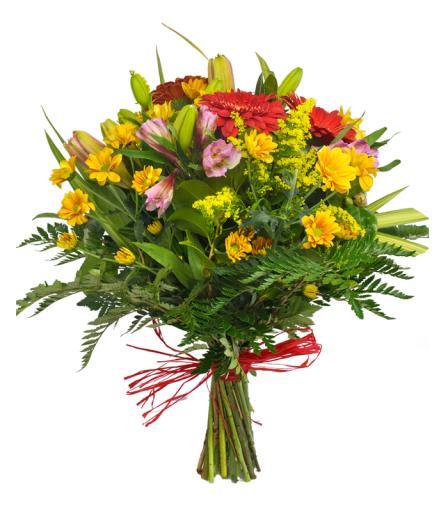 Ramo de flores Calidez