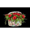 Caja con flores de temporada